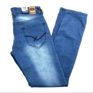 Blue Coin Jeans - Blue Coin Jeans, Size 40, 14-15 Years, NWT
